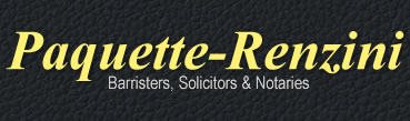 Paquette Renzini Law Office Logo